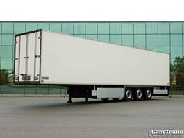 refrigerated semi trailer Chereau CSD3 3 AXLE FRIGO DOUBLE DOORS TOP CONDITION FULL CHASSIS 2009