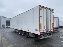 Kofferauflieger Ekeri Ekeri DRY freight semi-trailer curtain roof 2014