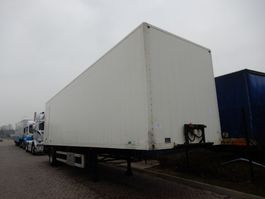 closed box semi trailer DRACO City-oplegger / BPW axle 2001