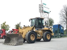 wheel loader Caterpillar Radlader 928 G 2000