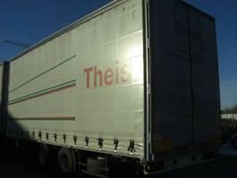 sliding curtain trailer Ackermann OHNE BEZ. / Tandemanh. 18T