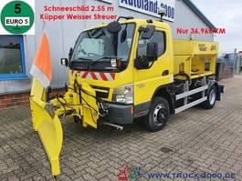 other trucks Mitsubishi Canter 7C15 Winterdienst Streuer + Schneeschild 2012