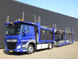 car transporter truck DAF CF 440 / EURO 6 / CAR TRANSPORTER / ROLFO 2014
