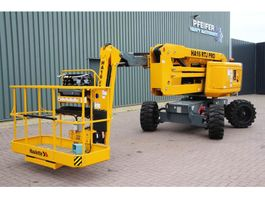 articulated boom lift wheeled Haulotte HA16RTJPRO Diesel, 4x4x4 Drive, 16 m Working Heigh 2018