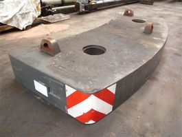 other equipment part Grove GMK 4075 counterweight 5 ton
