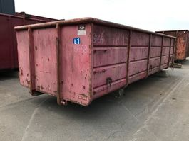 open top shipping container Vernooy OPENCONTAINER 8458