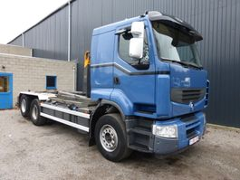 container truck Renault LANDER 460 DXI 6x2 EURO 5 2013
