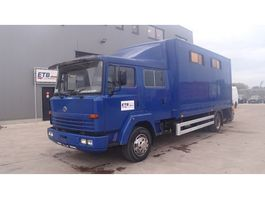 closed box truck > 7.5 t Nissan ECO 160 / 110 (AIRCO / FULL STEEL SUSPENSION / PERFECT BELGIAN TRUCK) 1997