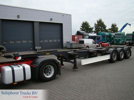 container chassis semi trailer Fliegl 3 axle container trailer 2003