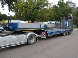 lowloader semi trailer Kaiser ROBUSTE KAISER SSBE35/2 62500 kg 4m UITSCHUIFBAAR /EXTENSIBLE 1994