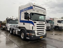 cab over engine Scania R 400 6X2 - RETARDER - 3 PEDALS - EURO 5 - 2X TANK - HOLLAND TRUCK 2009