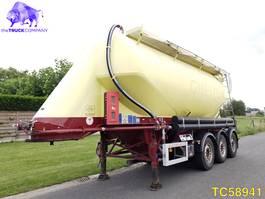feed semi trailer Feldbinder Silo 2009