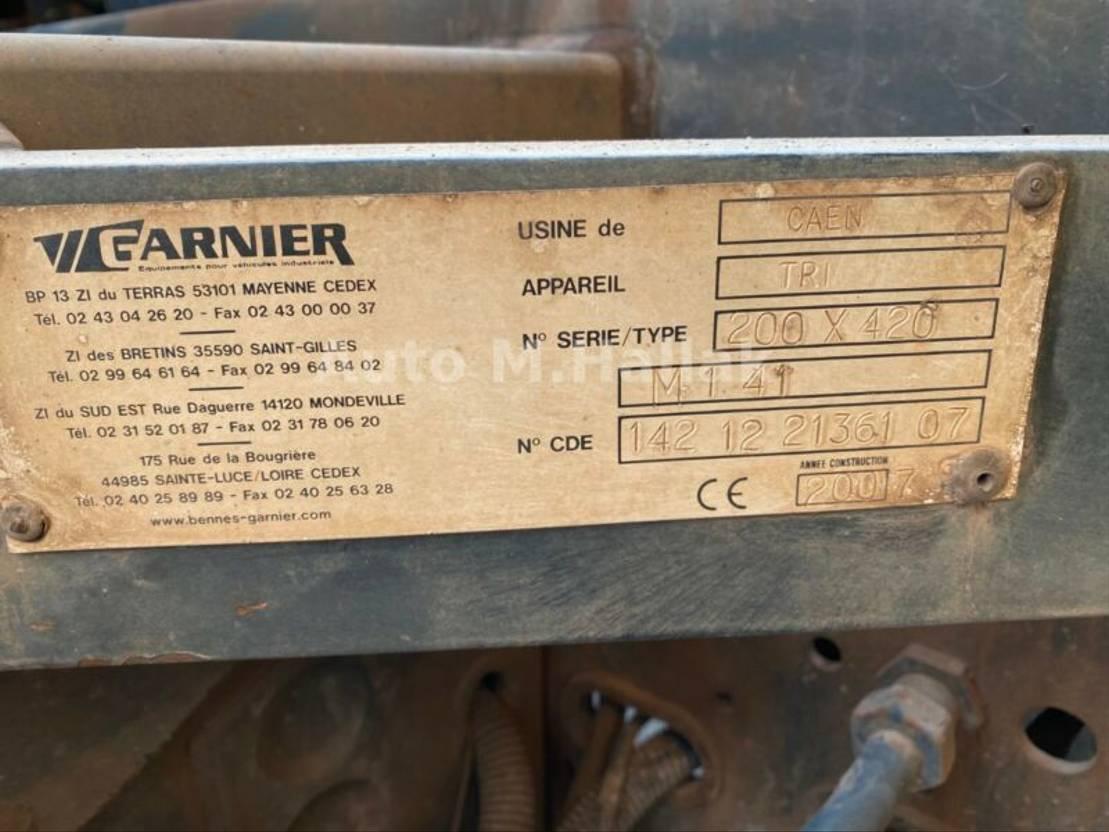 LKW Kipper > 7.5 t Iveco TRAKKER 410 6x4 Bordmatik Big Axel Manualgear