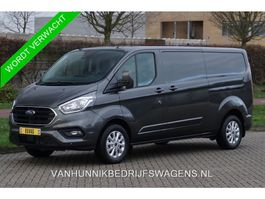 closed lcv Ford Transit Custom 300L 170PK Limited Aut €379 / Maand Airco Cruise Camera, Navi, 2x... 2020