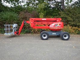 articulated boom lift wheeled Manitou 160ATJ 2006