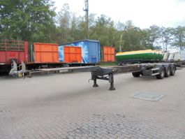 container chassis semi trailer D-TEC FT-43-03V 2008