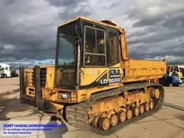 tracked dump truck Mitsubishi LD 1000 Crawler Dumper 1999