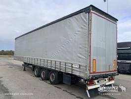 sliding curtain semi trailer Schmitz Cargobull Schuifzeil Mega Dubbeldeks 2014