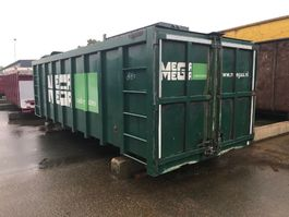 open top shipping container Vernooy OPEN CONTAINER MET SCHUIF 8487