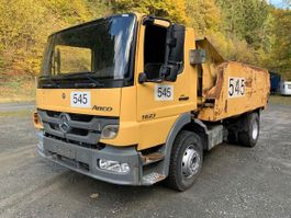 tipper truck > 7.5 t Mercedes-Benz 1623 L ** Tunnelbau / 10x VORHANDEN ** 2013
