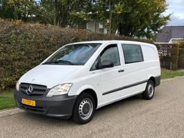 closed lcv Mercedes-Benz Vito 110 CDI Euro 5 Dubbele cabine Lang, airco 2014