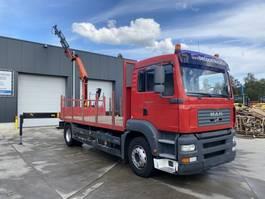 drop side truck MAN TGA 18.310 + PALFINGER PK 12000 2006