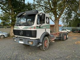 chassis cab truck Mercedes-Benz 2429 6x2 / EPS / V8 / Kein 1929 1990