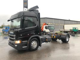 closed box truck > 7.5 t Scania P280 4x2/5000 2019