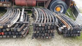 Leaf spring suspension truck part Sets of springs and rims for sale