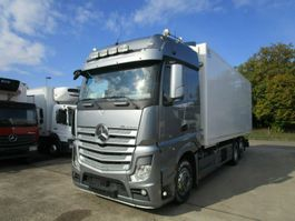 closed box truck > 7.5 t Mercedes-Benz ACTROS 2548 L FLEISCH-Kühlkoffer 5 Rohrbahnen 2014