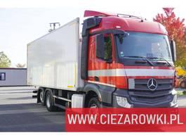 refrigerated truck Mercedes-Benz Actros 2542 , E6 , 6x2 , 19 EPAL , Retarder , Lift axle , Stream 2017