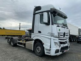 chassis cab truck Mercedes-Benz Actros 2545 6x2 Wechselrahmen BDF Euro 6 2019