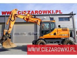 wheeled excavator Doosan DX 160W-7 , side-broken arm , q-c , joystick , camera , A/C 2013