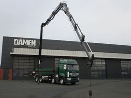 crane truck Renault Lander 450 8x4 Palfinger PK 40001 ELA + JIB 2009