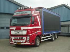 sliding curtain truck Volvo FH460 6x2 Schuifzeilen Hefdak Kippentransport Liftas en Stuuras Euro 5 2013