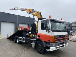 tow-recovery truck DAF CF 75 290 6X2 RECOVERY TRUCK + EFFER 170S6 2000