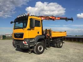 tipper truck > 7.5 t MAN TGS 18-400 BB , 4 x 4 , Atlas 85.5 , Meiller 3-Seiten, AHK + Hydraulik, TOP