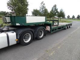 semi lowloader semi trailer Faymonville STZ-3A 2002