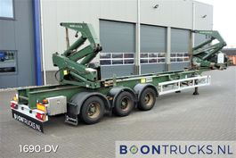 Container-Fahrgestell Auflieger Hammar 195S SIDE LOADER | 2x20-30-40-ft HC * 36 T SWL 2008