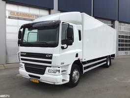 closed box truck > 7.5 t DAF CF 65 FA 220 2012