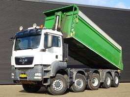tipper truck > 7.5 t MAN TGS 41.440 10X8 TIPPER / MANUAL / SPRING SUSPENISON 2010