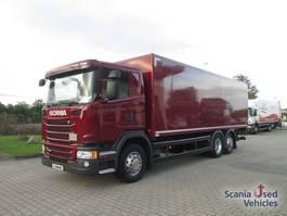 closed box truck > 7.5 t Scania G320DB6X24MNB Trockenkoffer 2015