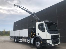 crane truck Volvo FE250 2014
