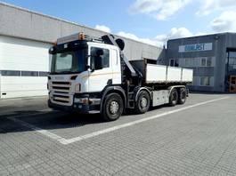 crane truck Scania P 420 2007