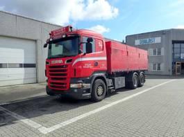 tipper truck > 7.5 t Scania R 560 2012