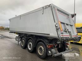 Pritsche / Plane Auflieger Schmitz Cargobull Semitrailer Tipper Alu-square sided body 39m³ 2017