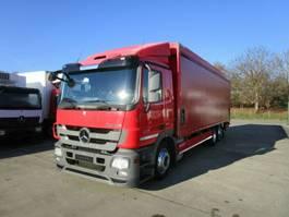 drop side truck Mercedes-Benz ACTROS 2541 L Getränkepritsche 8,2m LBW 2 T*LENK 2012