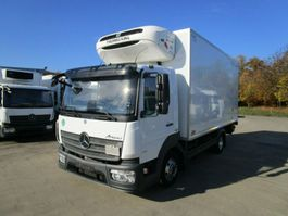refrigerated truck Mercedes-Benz ATEGO 816 Kühlkoffer 5 m LBW 1 T*THERMOKING 2016