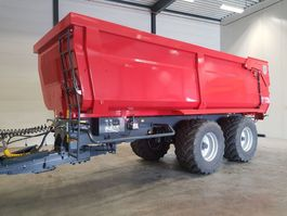wheel dump truck Veenhuis Herculano 2 asser gestuurd hydraulisch 20 m3 2018