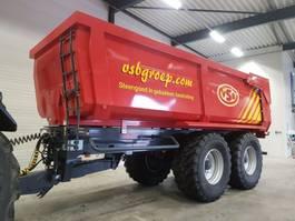 tipper trailer agricultural Veenhuis Herculano landbouwkipper 2 asser 2020